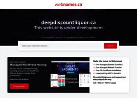 Deepdiscountliquor.ca thumbnail