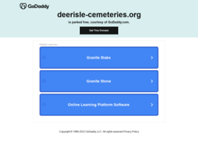 Deerisle-cemeteries.org thumbnail