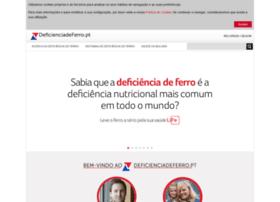 Deficienciadeferro.pt thumbnail