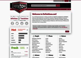 Definitions.net thumbnail