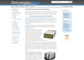 Dehydratorbook.com thumbnail