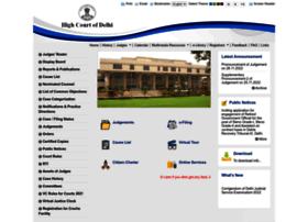 Delhihighcourt.nic.in thumbnail