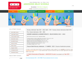 Delhischooladmissions.in thumbnail