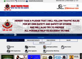 Delhitrafficpolice.nic.in thumbnail