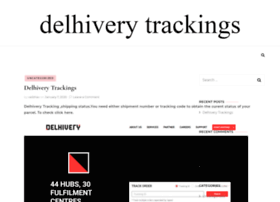 Delhiverytrackings.in thumbnail