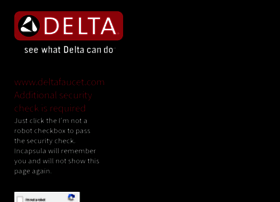 Deltafaucet.com thumbnail