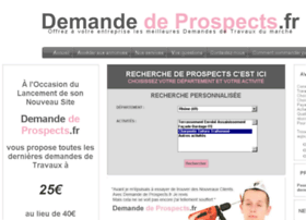 Demande-de-prospects.fr thumbnail
