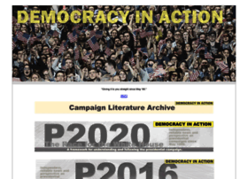 Democracyinaction.us thumbnail