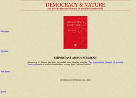 Democracynature.org thumbnail