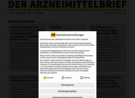 Der-arzneimittelbrief.de thumbnail