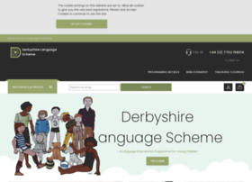 Derbyshire-language-scheme.co.uk thumbnail