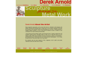 Derekarnold.com thumbnail
