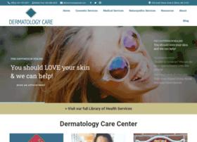 Dermatologycare.center thumbnail