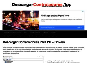 Descargarcontroladores.top thumbnail