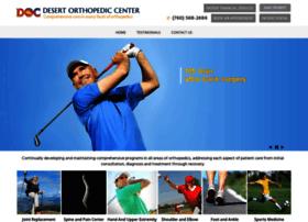 Dmitchell Desertortho Com At Website Informer