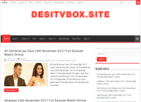 Desitvbox.site thumbnail