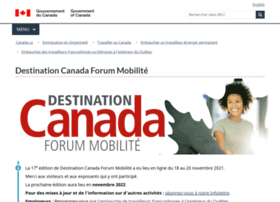Destination-canada-forum-emploi.ca thumbnail