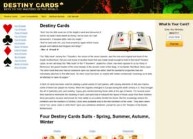 Destinycards.org thumbnail