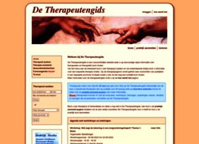 Detherapeutengids.nl thumbnail