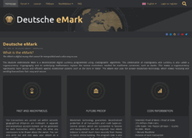 Deutsche-emark.org thumbnail