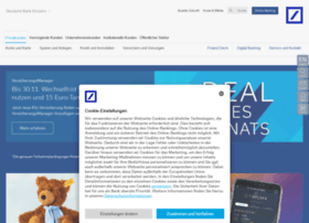 Deutschebank.de thumbnail