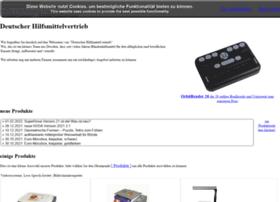 Deutscher-hilfsmittelvertrieb.de thumbnail