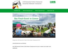 Deutsches-fohlenchampionat.de thumbnail