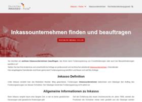 Deutsches Inkasso Portalde At Wi Inkasso Unternehmen Finden