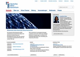 Deutsches-klima-konsortium.de thumbnail