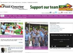 Dev.postcourier.com.pg thumbnail