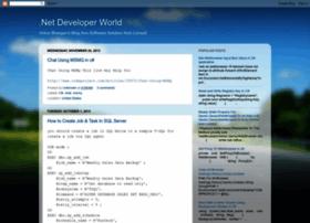 Developerdotnetworld.blogspot.com.tr thumbnail