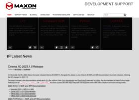 Developers.maxon.net thumbnail