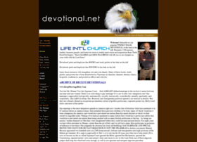 Devotionalnet.faithsite.com thumbnail