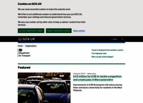Dft.gov.uk thumbnail