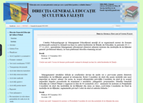 Dge-falesti.org thumbnail