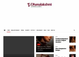 Dhanalakshmijewellers.com thumbnail