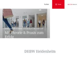 Dhbw-heidenheim.de thumbnail