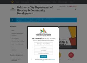 Dhcd.baltimorecity.gov thumbnail