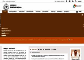 Dhenkanal.nic.in thumbnail