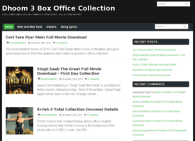 Dhoom3collection.co.in thumbnail
