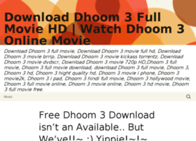 Dhoom3downloadhd.wordpress.com thumbnail