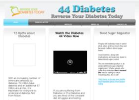 Diabete44.com thumbnail