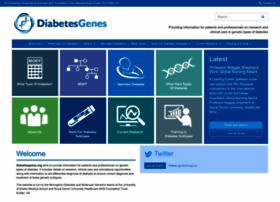 Diabetesgenes.org thumbnail