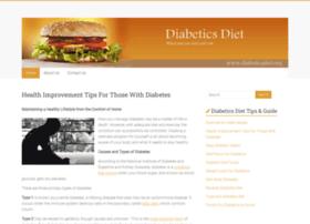 Diabeticsdiet.org thumbnail