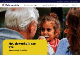 Diakonessenhuis.nl thumbnail