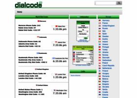 Dialcode.org thumbnail