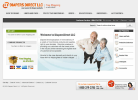 Diapersdirectllc.com thumbnail