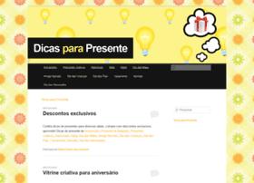 Dicasparapresente.com.br thumbnail