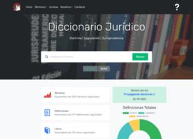 Diccionariojuridico.org thumbnail