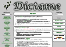 Dictame.net thumbnail